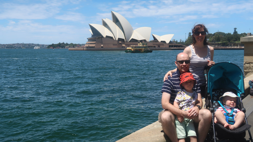 Down Under Family holiday