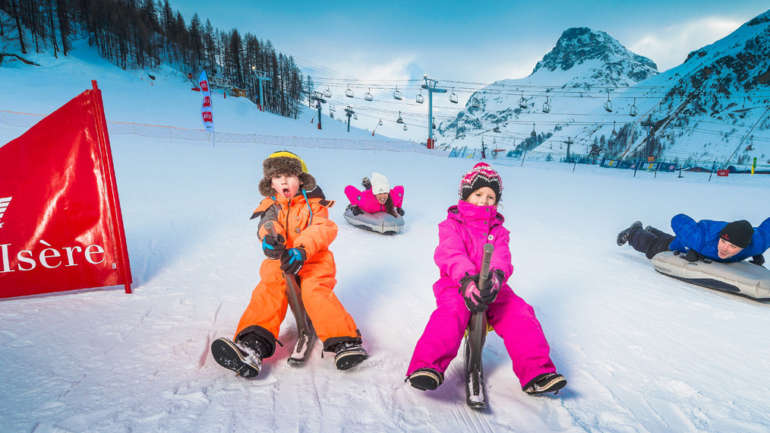 Planning for a ski holiday with kids