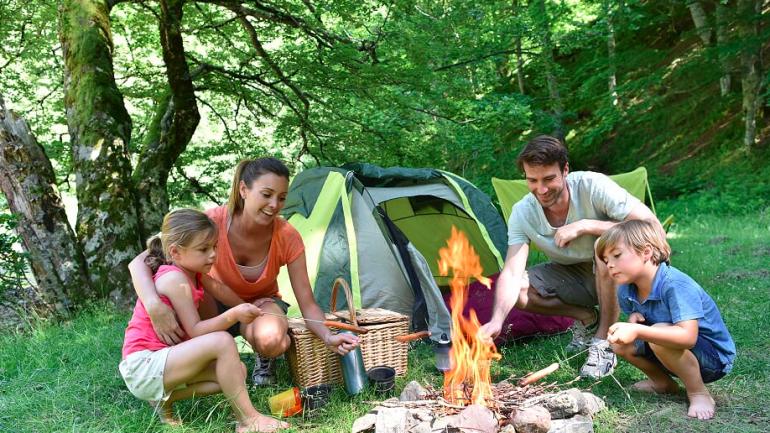 Top ten camping sites in Ireland