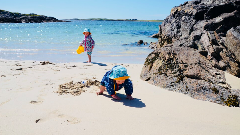 Camping with kids in Ireland