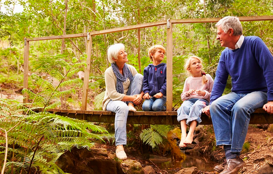 Best places for three-generational holidays