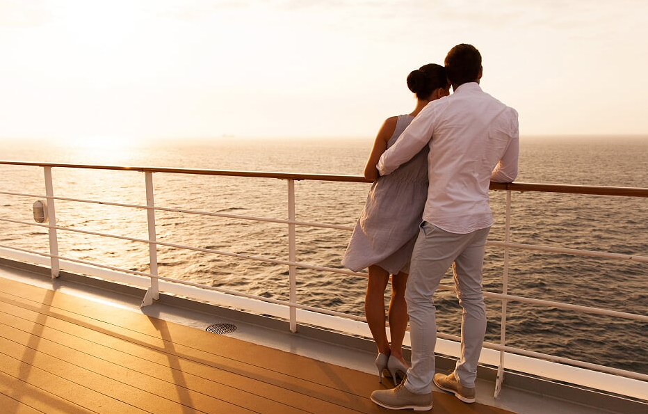 Romantic cruise breaks for couples