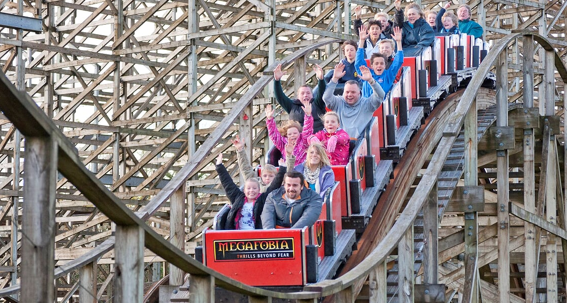 Thrilling theme parks of the U.K