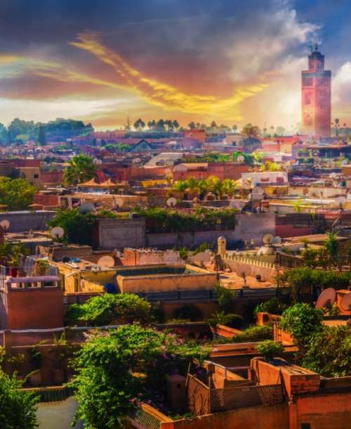 A family holiday in Marrakech