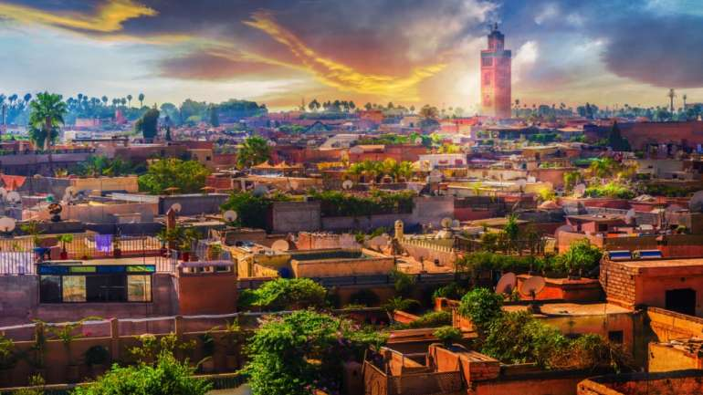 A family holiday in Marrakesh